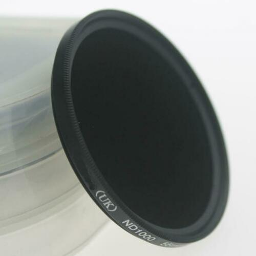 ND1000 Grijs filter, grijsfilter 49 52 55 58 62 67 72 77mm