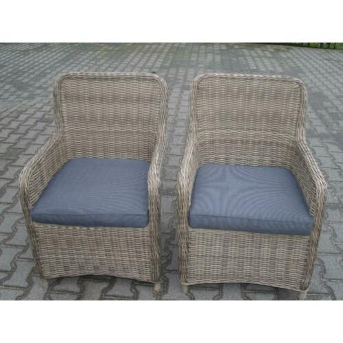 Wicker tuinstoelen , tuinset
