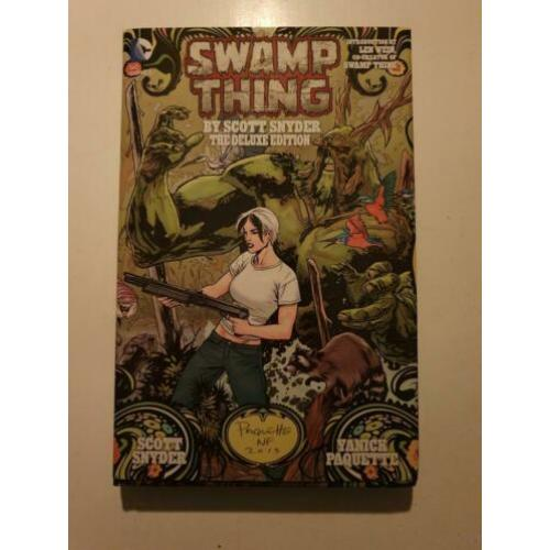 DC Swamp Thing by Snyder Hardcover