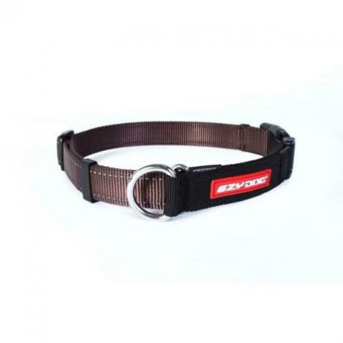 Halsband hond EZYDOG Checkmate Chocolate XL -25% KORTING!!!