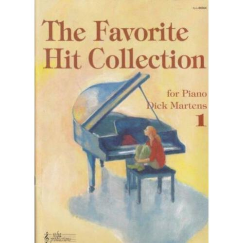 piano easy: THE FAVORITE HIT COLLECTION DL. 1 +2-LEUK!