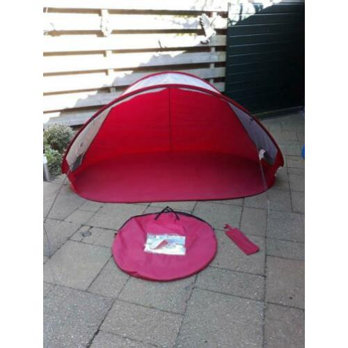 Pop up strandtent 220x120x100