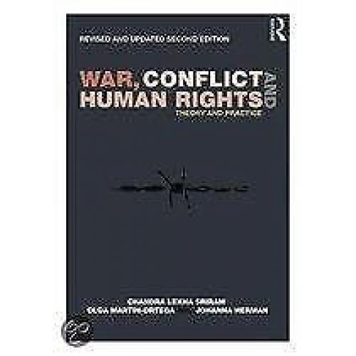 War Conflict and Human Rights 9780415832267