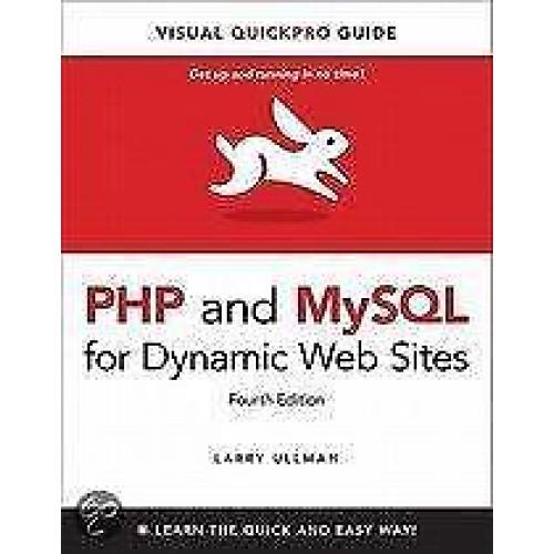 PHP and MySQL for Dynamic Web Sites 9780321784070